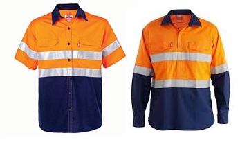 Do long sleeve shirts increase the risk of heat stress for outdoor workers?